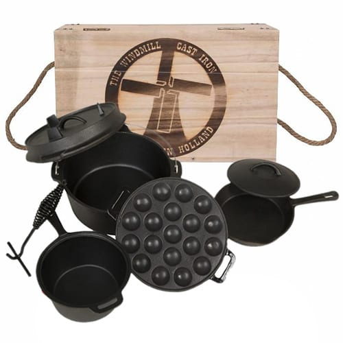 WindMill Cast Iron Set
