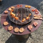FORNO® Grill Ring op Cilinder in gebruik