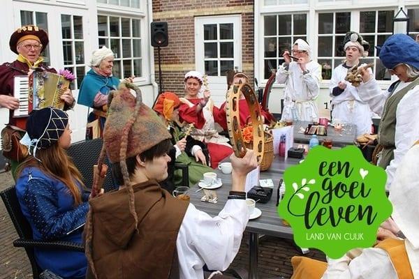 Pop-up restaurant tijdens Vestingstedendagen in Grave