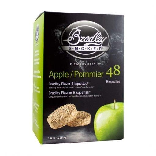 Bradley Smoker Apple Bisquettes