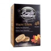 Bradley Smaak Bisquettes Esdoorn 48 Pack