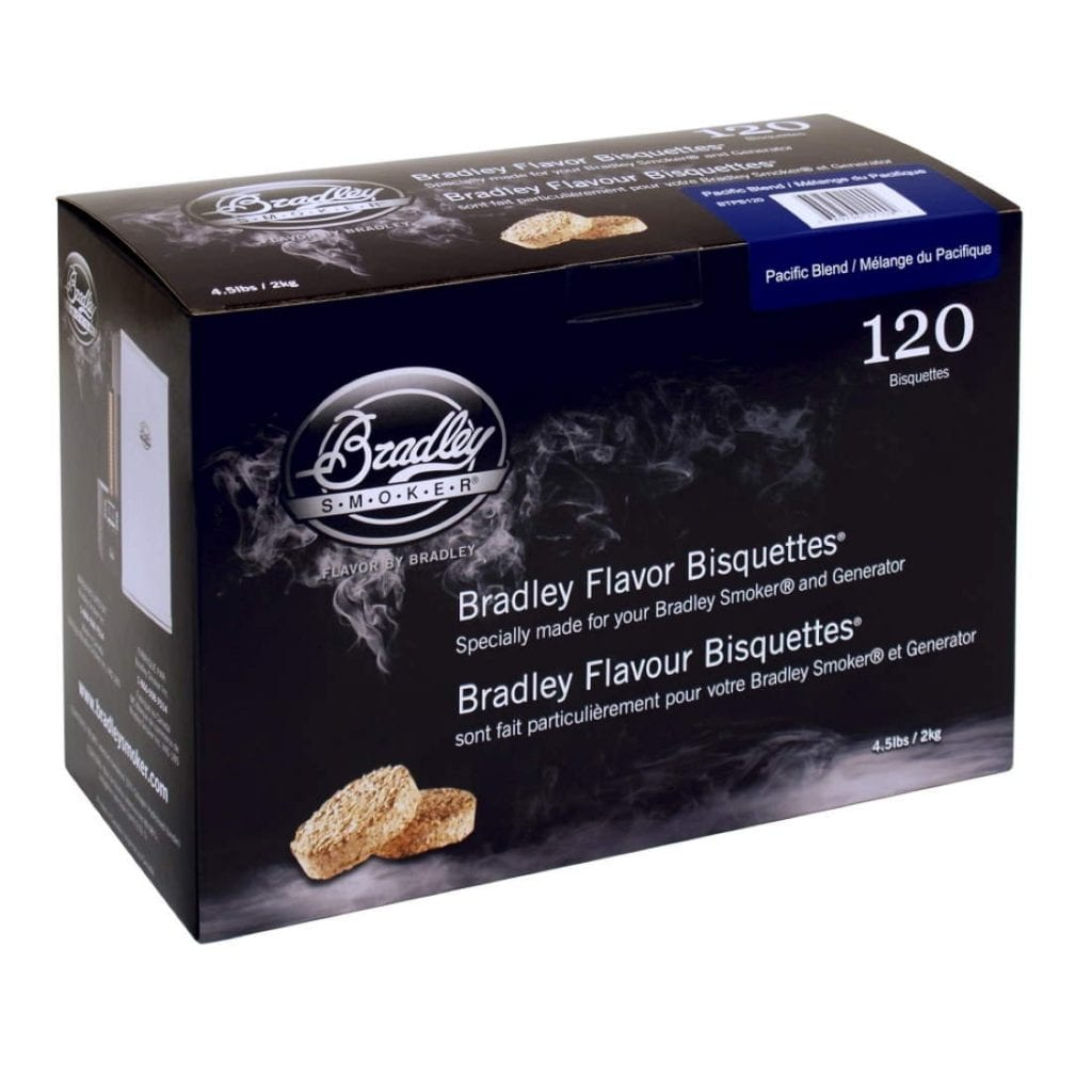 Bradley Smoker Pacific Blend Bisquettes 120 Pack