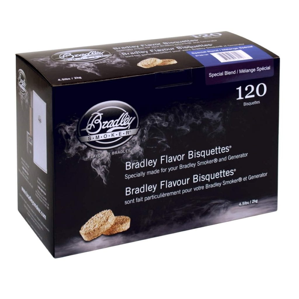 Bradley Smoker Special Blend Bisquettes 120 Pack