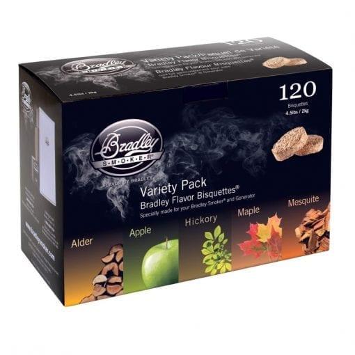 Bradley Smoker Variatie Bisquettes 120 Pack