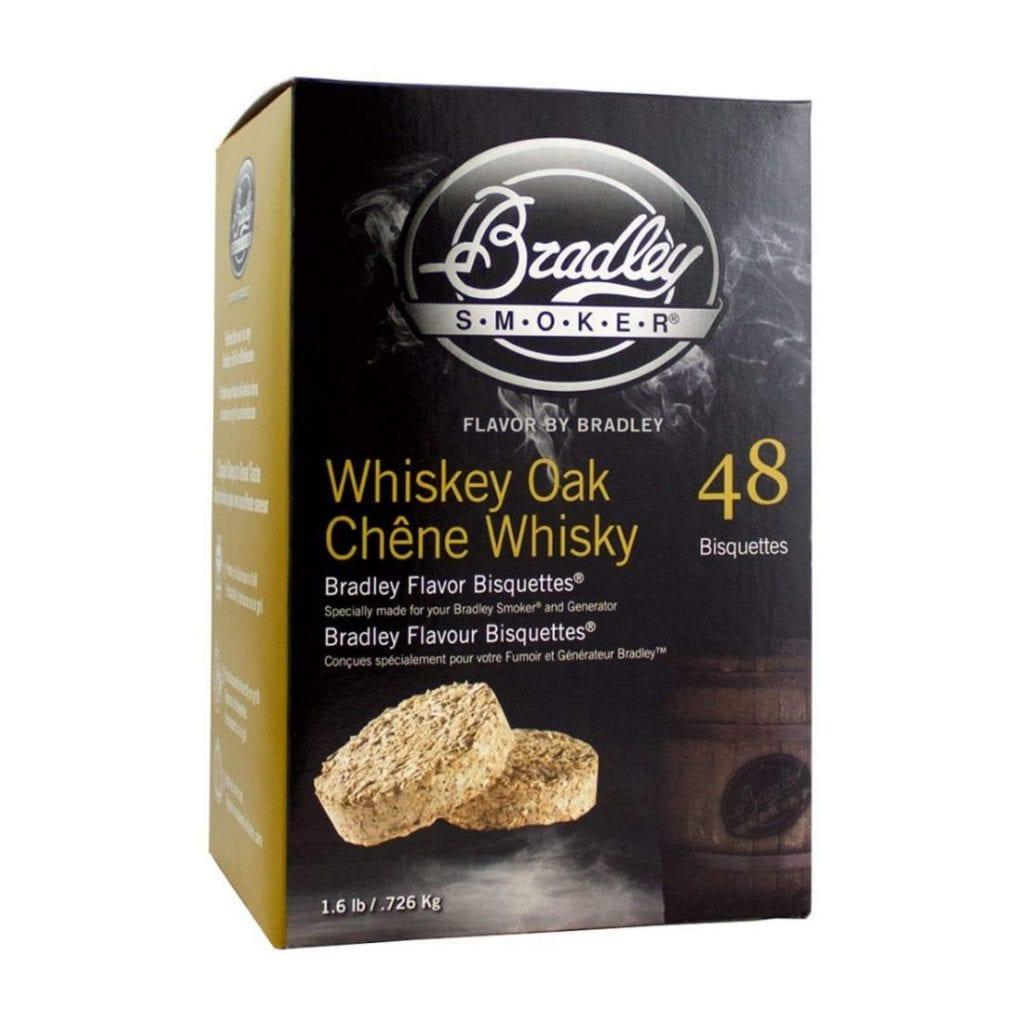 Bradley Smoker Whisky Eik Bisquettes