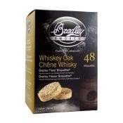 Bradley Smaak Bisquettes Whiskey Eik 48 Pack