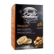 Bradley Smaak Bisquettes Mesquite 48 Pack