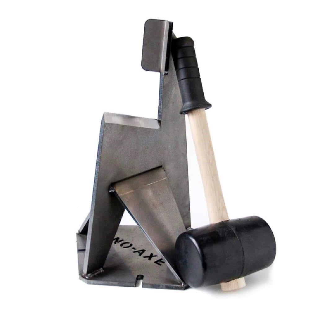 No-Axe Houtsplijter met Hammer