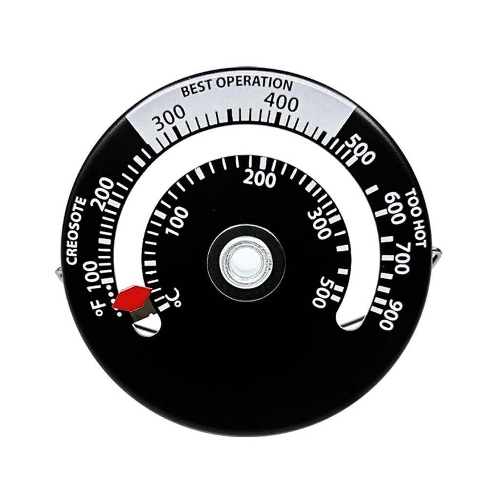 Magnetische Kachelpijp Thermometer