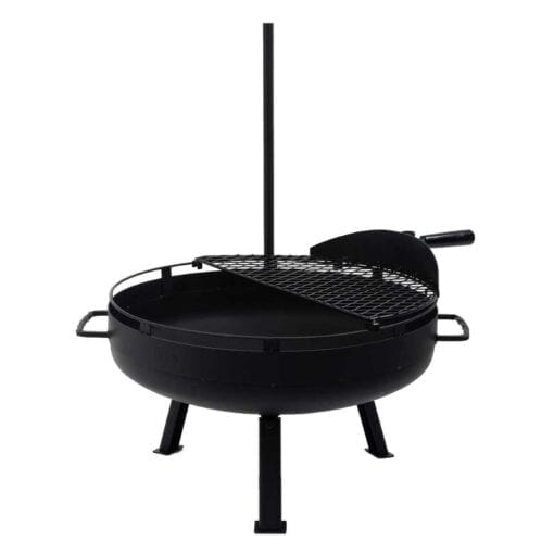 Barebones Cowboy Fire Pit Grill